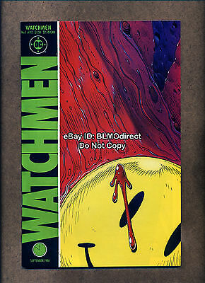 1986 Watchmen #1 NM- First Print Movie Alan Moore Dave Gibbons