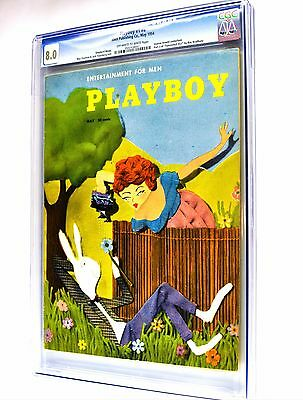 Playboy May 1954 | CGC 8.0 Very Fine | Joanne Arnold