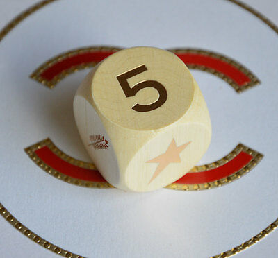 VIP gift from Chanel beauty boutique Chanel Les Talismans wooden cube dice