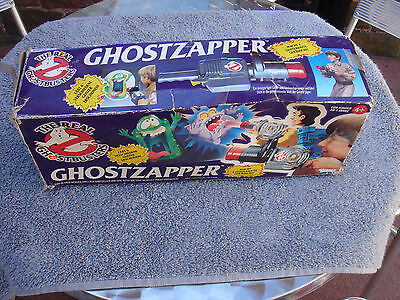 The Real Ghostbusters Ghostzapper Projector Toy - Boxed and Working