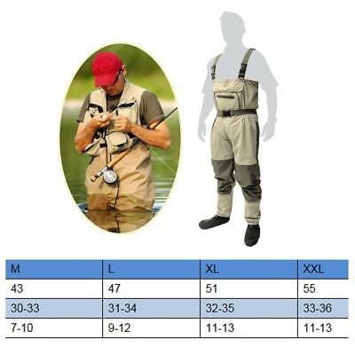Fishing Wading Pants Chest Wader Waterproof Carp Fishing Farming Clothes M
