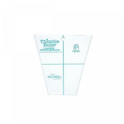 """5"""" THIMBLE RULER, from Riley Blake Designs, *NEW*"""