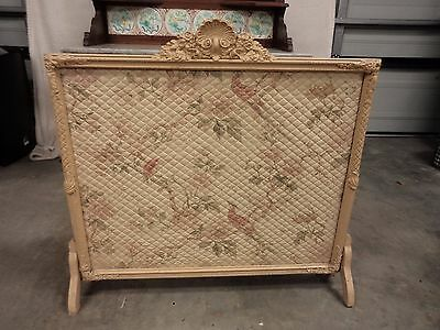 Vintage Decorative Fire Screen - Extremely Unique