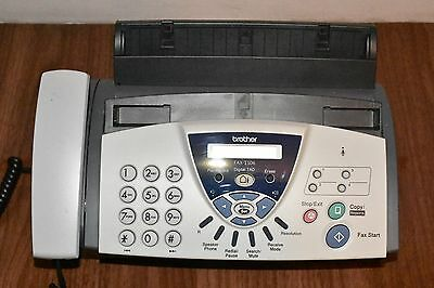 Brother FAX-T106 fax machine/telephone with answering machine in perfect order.
