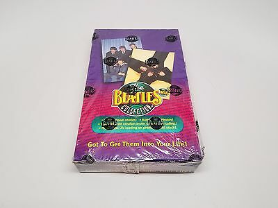 The Beatles Collection Sealed Trading Cards Box Vintage