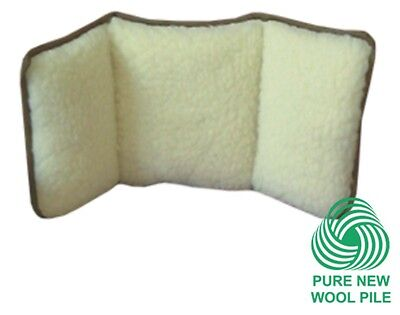 Kozee Komforts 100% Pure New Wool Back Support Cushion. Mobility Aid.