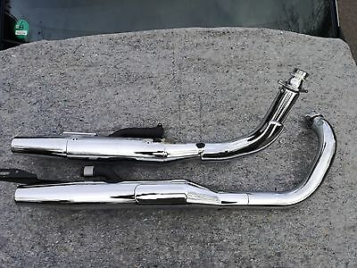Honda Shadow VT750 RC53 Auspuff Exhaust 2007 2008 2009 2010