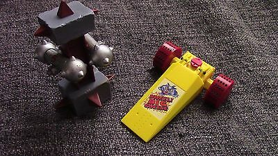 BBC Robot Wars Wheely Big Cheese Pull back & Go with accessories