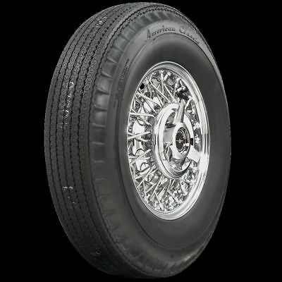 710R15 American Classic Blackwall Radial (Bias Look) Tire