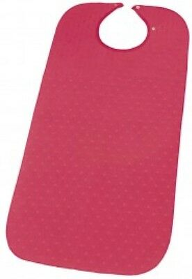 Senset Dining Bib. Red
