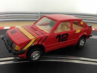 Scalextric Car Ford Escort XR3i Red No12 C327