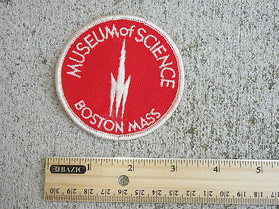 Vtg Museum of Science Boston,Mass Patch