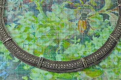 """Vintage Stunning Sterling Silver MARCASITE COLLAR STYLE NECKLACE 17"""" 61.3 Grams"""