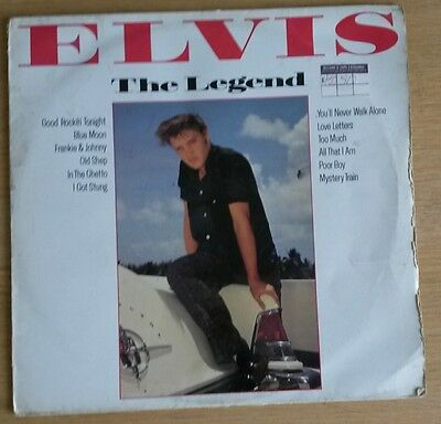 Elvis Presley ‎– The Legend - original 1983 vinyl LP