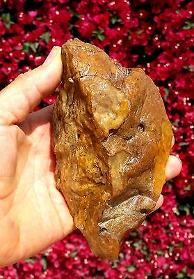 Large 710 gram Natural Flint Stone Tool Resembles Hand Axe Neanderthal