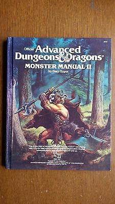 monster manual ll advanced dungeons and dragons
