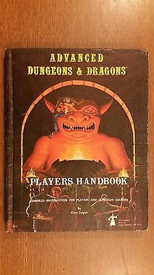 players handbook 3rd printing 1st edition vintage advance dungeons and dragons