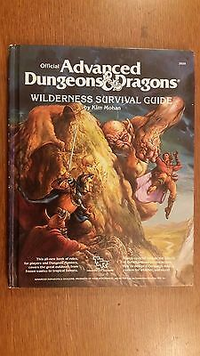 wilderness survival guide dungeons and dragons