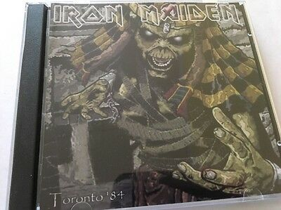Iron Maiden Double CD Toronto, Canada Powerslave Tour 1984