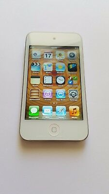 New Apple iPod touch 4th Generation White (8 GB) Bundled with Accessories