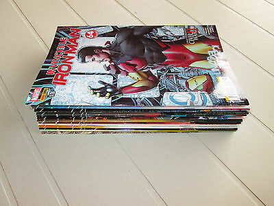 Invincible Iron Man Fascia Completa 01/13 (37/49) Marvel 2016/2017 (B.m.bendis)