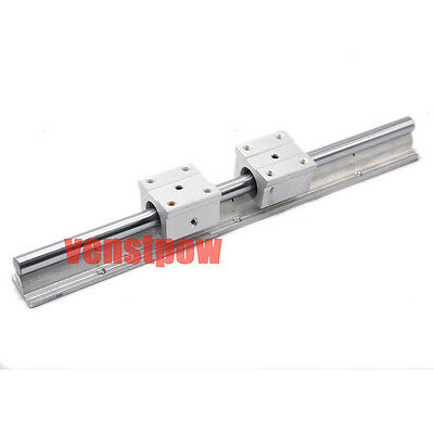 1pcs 16mm SBR16-800mm fully supported Linear Motion Bearing Rail CNC shaft slide