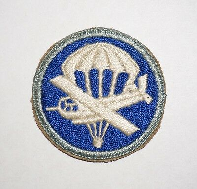 Parachute Infantry Airborne Cap Patch WWII US Army P3919