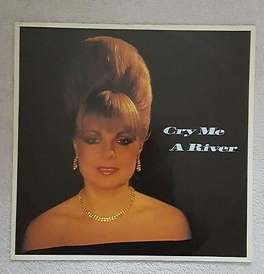 """MARI WILSON CRY ME A RIVER 12"""" SINGLE 1983 Excellent Condition."""
