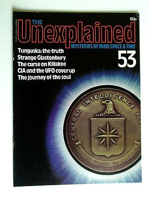 THE UNEXPLAINED No.53-TUNGUSKA,STRANGE GLASTONBURY,KILLAKEE,UFO`S,SOUL TRAVEL