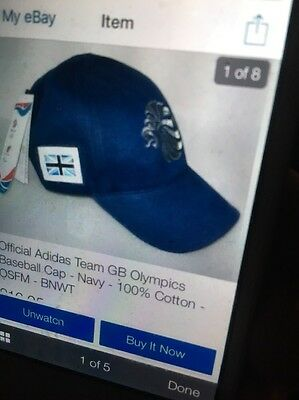 Olympic Cap From London 2012 Rare In New Condition Labels