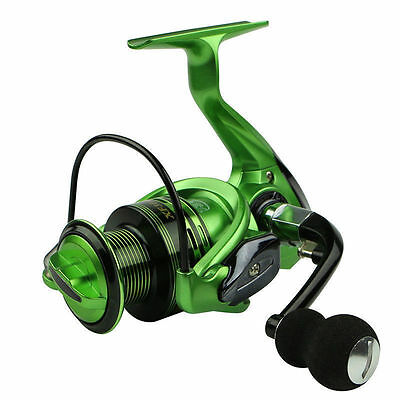 13+1BB Ball RightLeft Handed Saltwater Freshwater Fishing Spinning Reel XF green