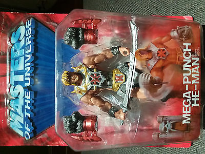 Master Of The Universe - He-Man Mega Punch.  Action-Figure (2003)