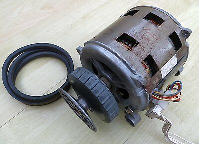 Sole Heavy Duty Ac Brushless Motor With Clutch Pully Start 2 Speed