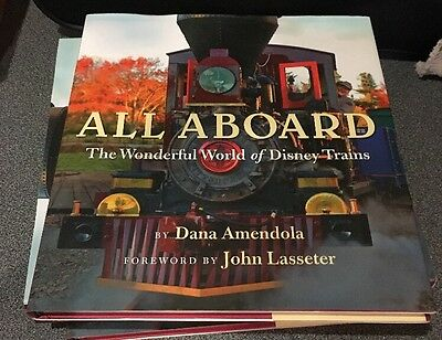 All Aboard The Wonderful World of Disney Trains Hardcover Deluxe Edition