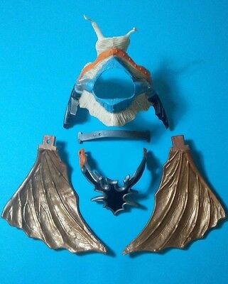 Vtg AD&D Dungeons & Dragons Bronze Dragon Armour + Wings 1st Series 1983 © LJN