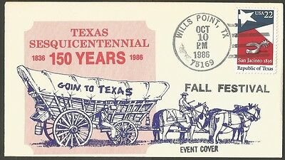 Us Event Cover 1986 Texas Sesq Goin To Texas Fall Festival Wills Point Tx