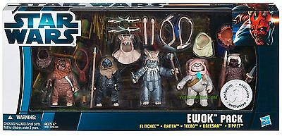 Star Wars Exclusive Ewok Pack Hasbro Rare