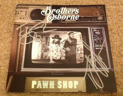 Brothers Osborne  -  Pawn Shop -  Signed  Cd Insert   - Country Authentic - Uacc