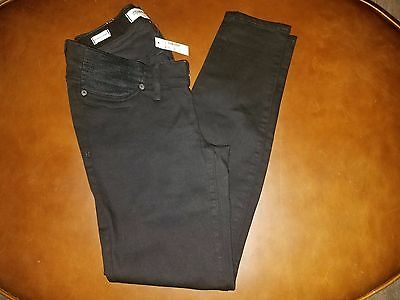 Madewell by J.Crew Maternity Skinny Jeans In Black Frost Size 28 NWT Retail $138