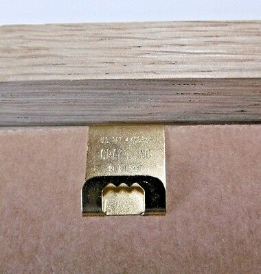 Clip Over Hangers for Picture Frames - Single (2mm Board)