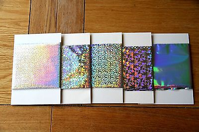 Craft Dragon TODO hot foil taster pack 16 colours or 5 lace or 5 holo 0.5m each