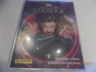 Panini Marvel Doctor Strange Cards - Full set of 125 cards in original album