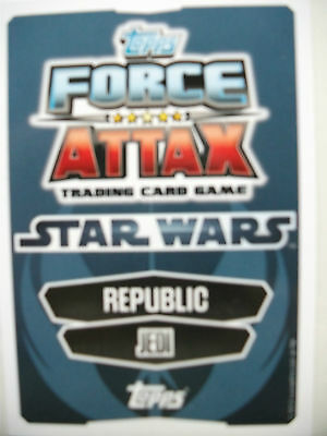 Star Wars Force Attax Movie Cards Series 1 x 5 cards - Lot 1