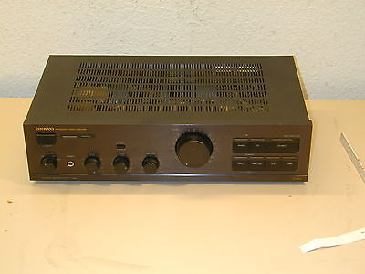 ONKYO A-820 Intergrated Stereo Amplifier Discrete Amplifier Output Stage
