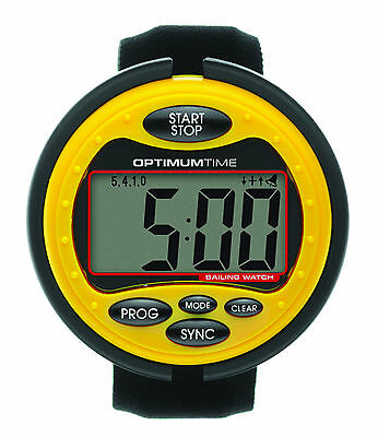 Optimum Time OS315 Big Yellow Sailing Watch - FREE 1st Class Delivery