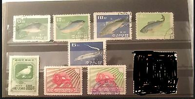 Mixed Asian postage Stamp Lot