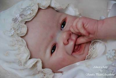 """Jewls By Sandy Faber New Reborn Baby Doll Kit @ 21"""" @Body Included"""
