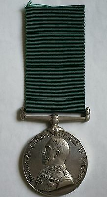 Volunteer Force LS&GC Medal to Sergeant in United Provinces Horse, Indian unit