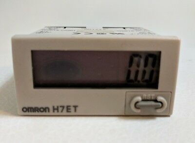 Omron H7ET-N  Time Counter
