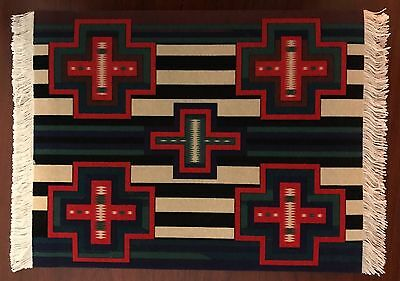 Fringed MOUSERUG (Mouse Pad) or 1:12 Scale LARGE Dollhouse Rug - Style #MR2